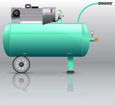 Kompressor für Malerarbeiten / Compressor mashine für Malerei der industriellen Produktion
