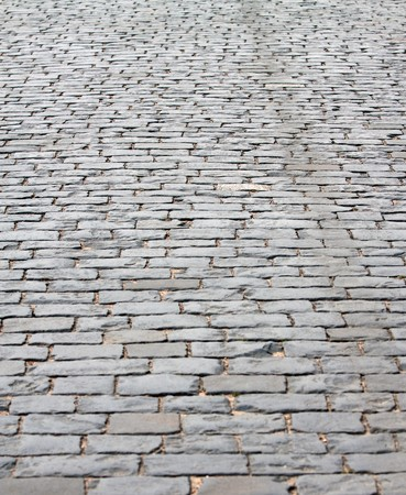 Cobbled Road at Red Square, Moscow, Russian Federation photo