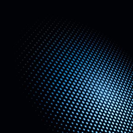 Light spot  Hexagonal dots on black background  Vector Illustration Stock Vector - 13106252