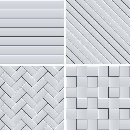repeatable texture: Sin costura patrones de franjas establecido.