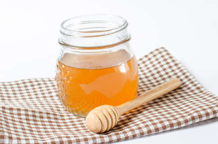 wooden stick: Honey with wooden stick