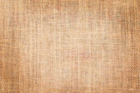 gunny bag: Brown sackcloth texture background with vintage grunge border - gunny bag