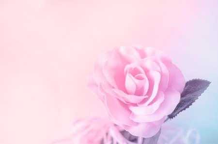 美しいビンテージ背景 - パステル ローズ