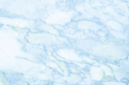 Blue light marble stone texture background Standard-Bild