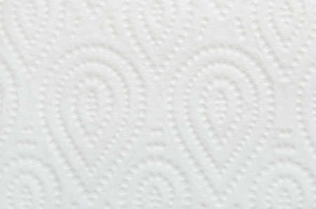 ply: Close up of white toilet paper with water drop pattern texture background
