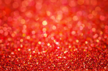 Red abstract background - Red bokeh background