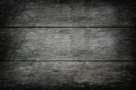 Old wooden texture background with vignette tone 写真素材