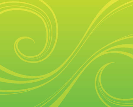 Swirly green background
