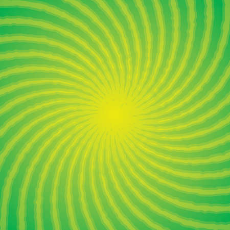 Green swirl background Illustration