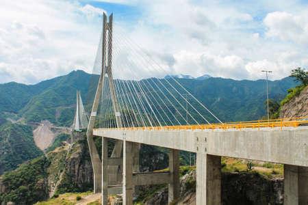 bulwark: bulwark bridge Stock Photo
