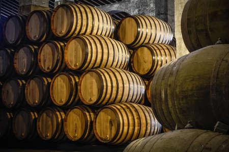 sherry: Whiskey or wine cellar
