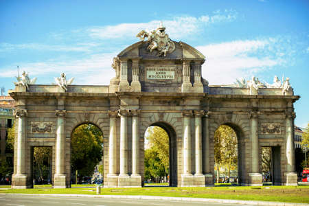 The Puerta de Alcala in Madrid