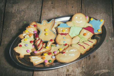 gingerbread cookies: Gingerbread cookies, traditional Christmas sweets