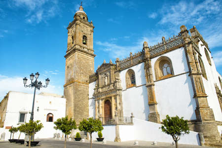 Church of Santa Maria la Coronada in Medina Sidonia, Andalusia, Spain.