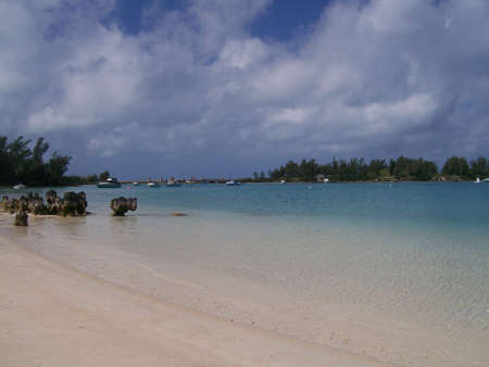 Serene Beach in Bermuda