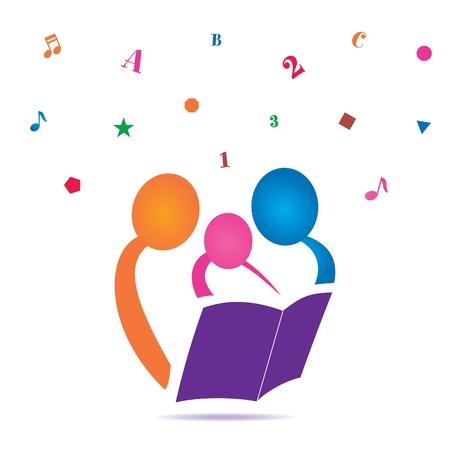 sachant lire et �crire: Lecture Ensemble Ic�ne