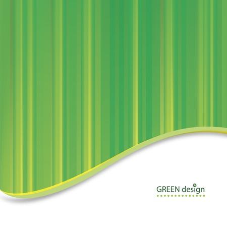 Abstract Green Design   Illustration