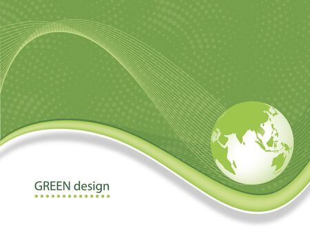 Abstract Business Green Design Vector