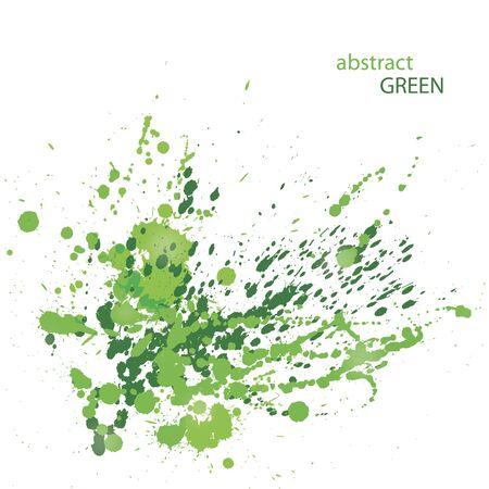 creative beauty: Abstract Grunge Green Illustration