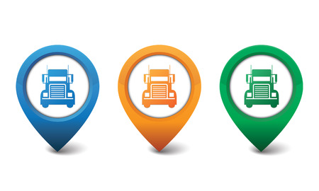 Truck icon vector illustration Illustration
