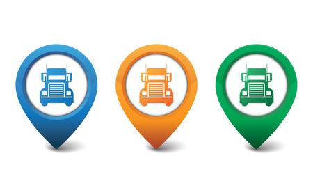 Truck Symbol Vektor-Illustration Standard-Bild - 23211492