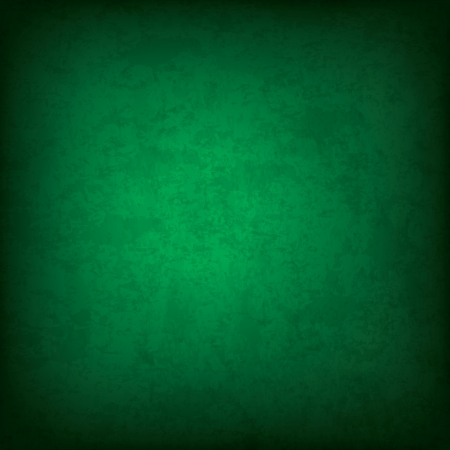 green background: Dark green grunge background Illustration