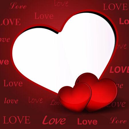 days: Elegant Valentine Days Background Illustration