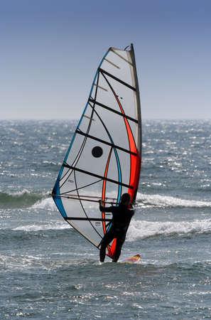 recreate: windsurfer