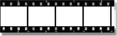 35mm: film strip