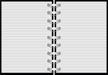 pus: blocco note  Vettoriali
