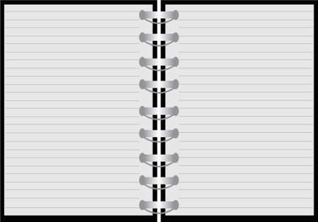 cork board: notebook