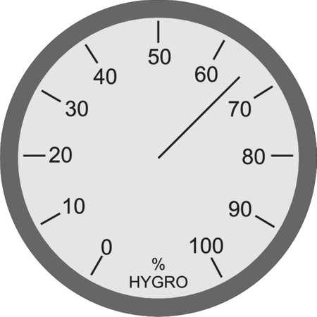 miernik: higrometr Ilustracja