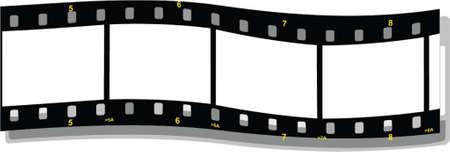 film strip wave