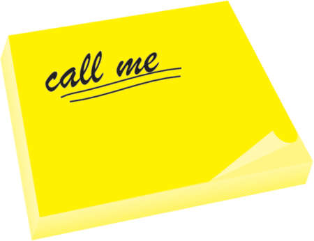 call me: yellow not with call me underline