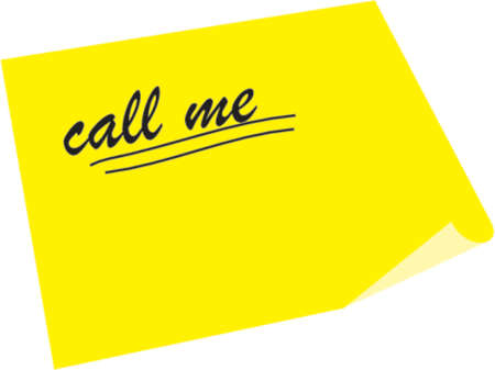 call me: note call me underline