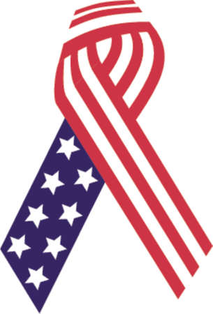 usa ribbon Stock Vector - 525038