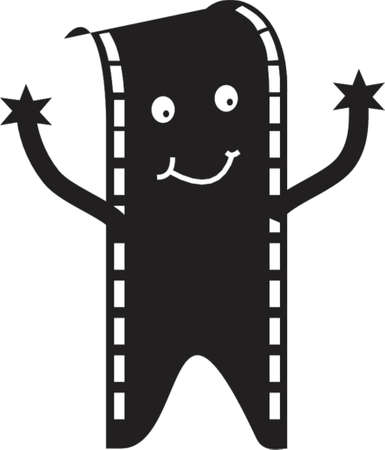 film man Vector