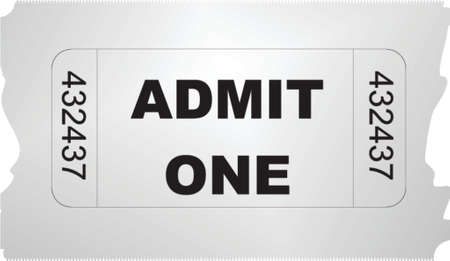 admit: ticket admit one