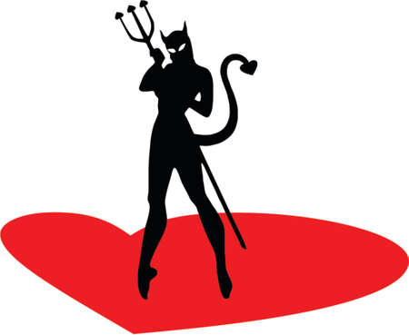 devil woman Stock Vector - 637415