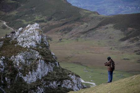 man in the mountain Stock Photo - 673759