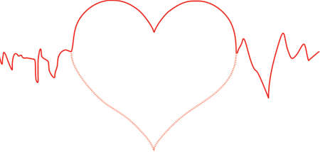 heart line Vector