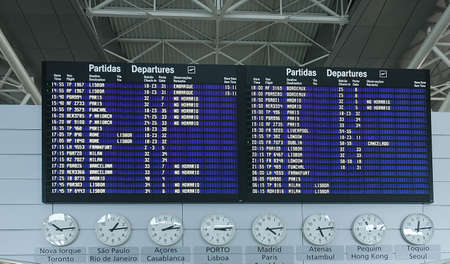 departure board: Airport Departure Board Information Editorial