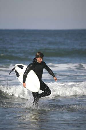 plucky: surfer portrait