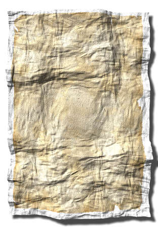background made of an crumpled up old paper Stock Photo - 1016640