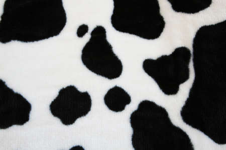 fabric with a cow skin pattern