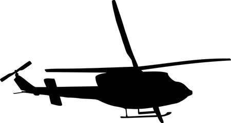 illustration of a helicopter  Illustration