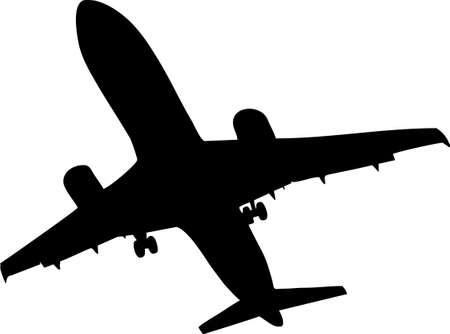 jetliner: illustration of a airplane