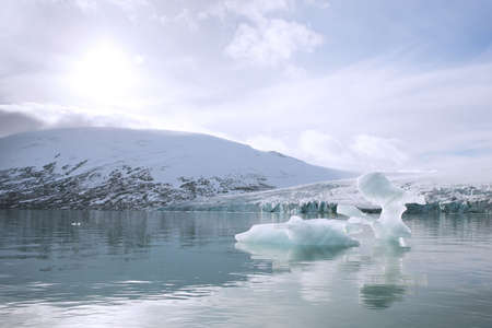 iceberg in the Jostedalsbreen glacier Stock Photo - 2085440