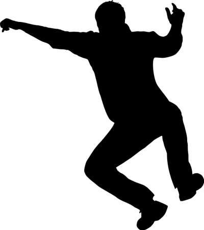 limber: illustration of a man jumping