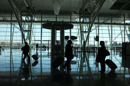people reflex in the airport Stock Photo - 3007655